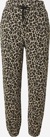Moves Pantalon 'Savesa' en beige / marron / noir, Vue avec produit