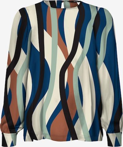 Vero Moda Tall Bluse 'MOLLY' i beige / blå / brun / grøn / sort, Produktvisning