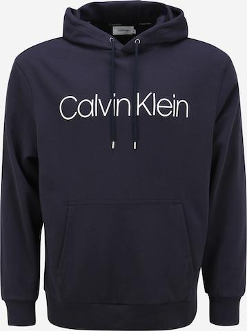 Sweat-shirt Calvin Klein Big & Tall en bleu