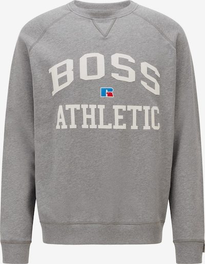 BOSS Casual Sweatshirt 'Stedman Russell Athletic' in blau / grau / weiß, Produktansicht
