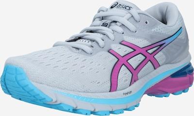 ASICS Running shoe in turquoise / grey / purple, Item view