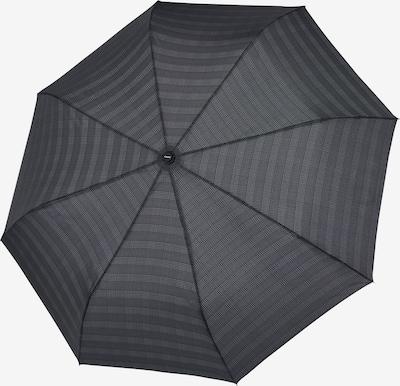 Doppler Parapluie 'Fiber Magic' en gris / gris clair / noir, Vue avec produit