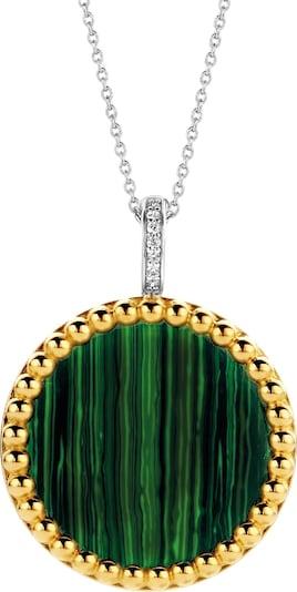 Ti Sento Milano Kette in gold / grün / silber, Produktansicht