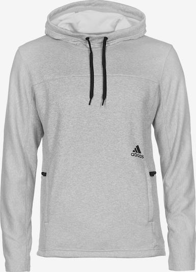 ADIDAS PERFORMANCE Sportsweatshirt 'Up City' in graumeliert / schwarz, Produktansicht