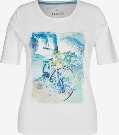 Rabe T-Shirt mit Motivprint und Glitzerdetails in weiß, Produktansicht