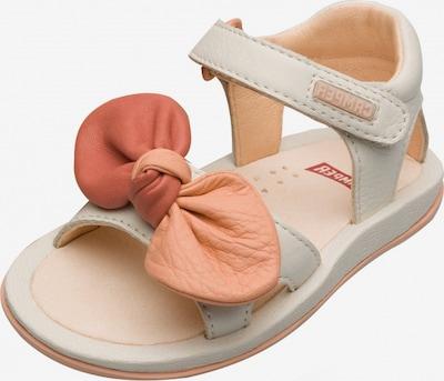CAMPER Sandale ' Twins ' in orange / weiß, Produktansicht