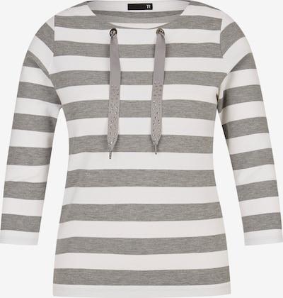 Thomas Rabe Shirt in anthrazit / weiß, Produktansicht