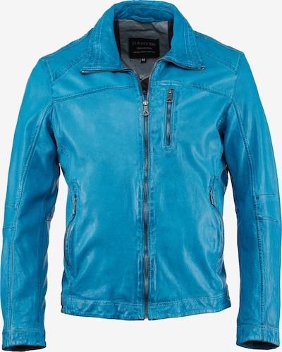 Jack Hanter Lederjacke 'LIVITO' in blau, Produktansicht