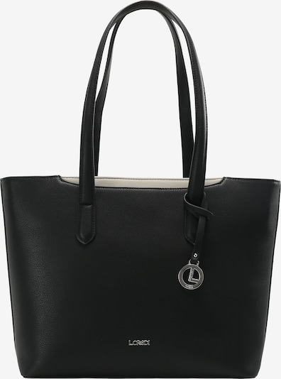 L.CREDI Shopper 'Femke' in schwarz, Produktansicht