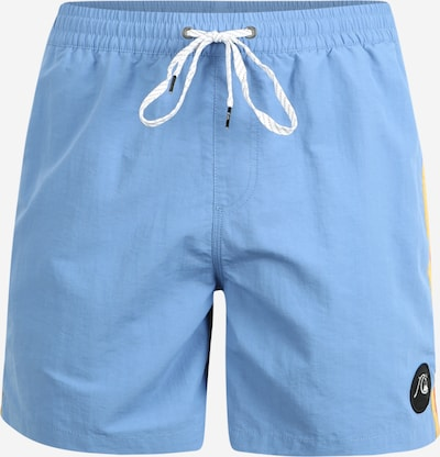 QUIKSILVER Zwemshorts 'BPLEASEVLY16' in de kleur Lichtblauw / Geel / Rood, Productweergave