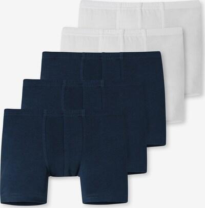 Pantaloncini intimi SCHIESSER di colore blu notte / bianco, Visualizzazione prodotti