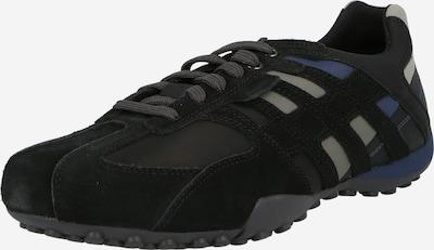 bézs / kék / fekete GEOX Rövid szárú edzőcipők, Termék nézet