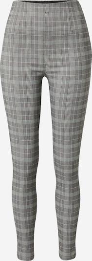Pimkie Pantalon 'VICTORIA' en anthracite / blanc, Vue avec produit