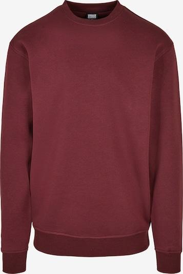 Urban Classics Big & Tall Sweatshirt in kirschrot, Produktansicht
