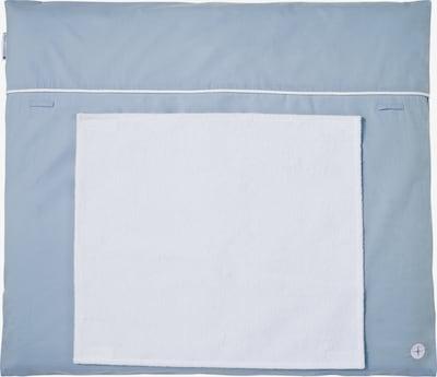 nordic coast company Wickelauflage mit abnehmbarem Frotteehandtuch in blau / mischfarben, Produktansicht