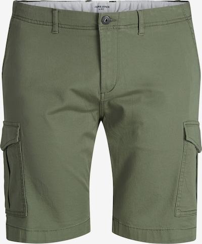 JACK & JONES Pantalon cargo en olive, Vue avec produit