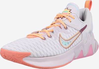 NIKE Athletic Shoes in Cream / Mixed colors / Neon orange / Light pink, Item view