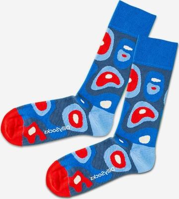 DillySocks Socken 'Sky Island' in Blau