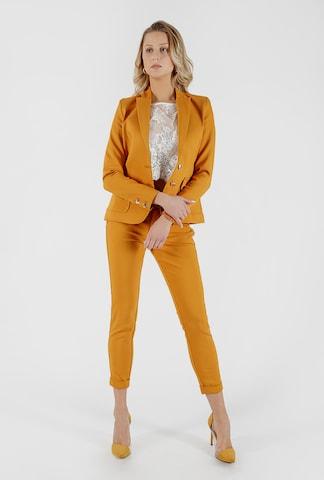 Miracle of Denim Blazer 'Ella' in Yellow
