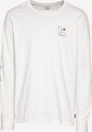 BILLABONG Tričko 'Hot Springs' - námornícka modrá / hnedá / nefritová / biela, Produkt