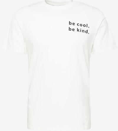 Casual Friday T-shirt 'Thor' i beige / svart, Produktvy