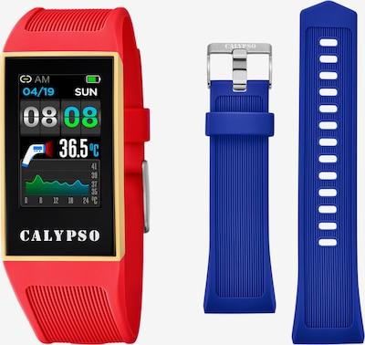 CALYPSO WATCHES Digitaluhr in blau / rot / schwarz, Produktansicht