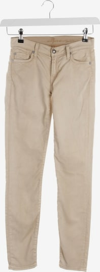 7 for all mankind Jeans in 25 in beige, Produktansicht