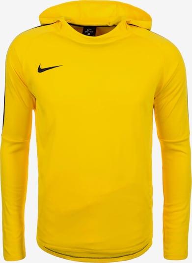 NIKE Sweatshirt 'Dry Academy 18' in neongelb / schwarz, Produktansicht
