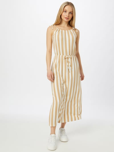 ABOUT YOU Jurk 'Joanna' in de kleur Beige / Wit, Modelweergave