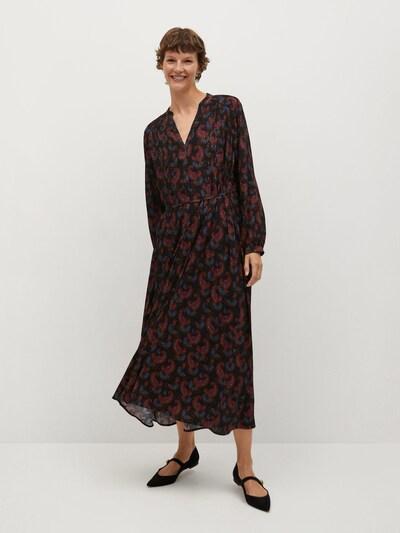 MANGO Kleid 'Calvin' in mischfarben / schwarz, Modelansicht