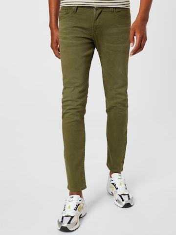 JACK & JONES Jeans 'GLENN' i grønn