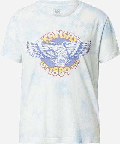Lee Majica u kraljevsko plava / svijetloplava / žuta / crvena / bijela, Pregled proizvoda