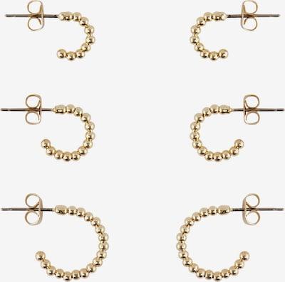 PIECES Uhani | zlata barva, Prikaz izdelka