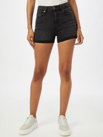 Urban Classics Jeans in Zwart