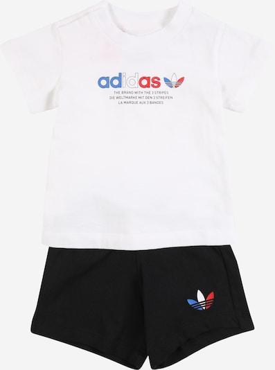 ADIDAS ORIGINALS Комплект в синьо / червено / черно / бяло, Преглед на продукта