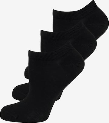 ELBEO Bio Sneaker ' 3er-Pack Organic Cotton ' in Schwarz