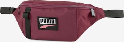 PUMA Gürteltasche 'Deck' in hellpink / weinrot / schwarz / weiß, Produktansicht