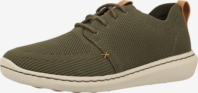 CLARKS Sneaker in chamois / khaki, Produktansicht