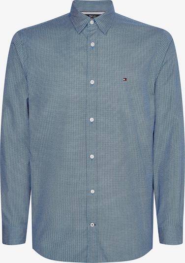 TOMMY HILFIGER Košile - kouřově modrá / černá / bílá, Produkt