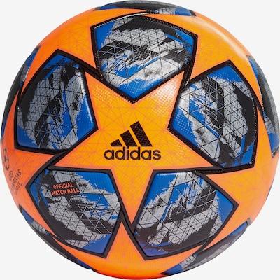 ADIDAS PERFORMANCE Ball in blau / orange / schwarz, Produktansicht