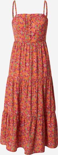 FRNCH PARIS Kleid 'Anaisse' in grasgrün / orange / pink, Produktansicht