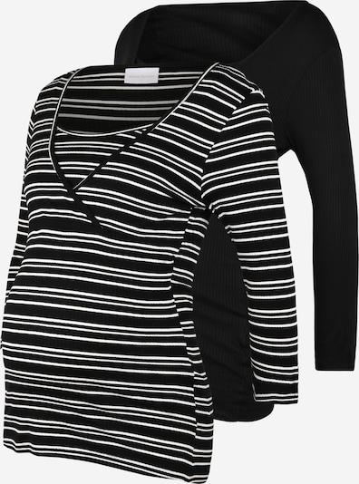 MAMALICIOUS Skjorte i sort / hvid, Produktvisning