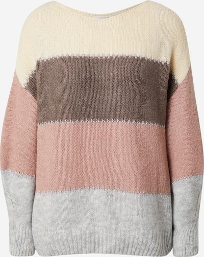 Guido Maria Kretschmer Collection Pullover 'Annika' in beige / rosé, Produktansicht