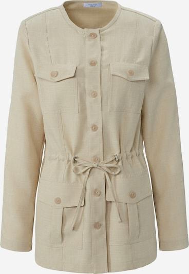 mayfair BY PETER HAHN Jacke in beige / creme, Produktansicht