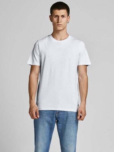 JACK & JONES T-Krekls, krāsa - melns / balts: Priekšējais skats
