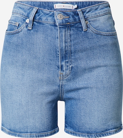 TOMMY HILFIGER Džínsy 'ROME STRAIGHT HW JUL SHORT' - modrá denim, Produkt