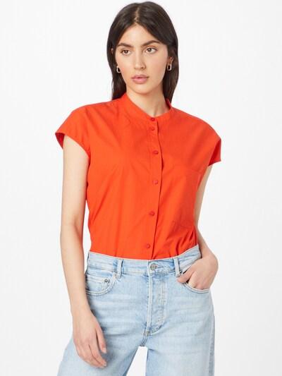 Marc O'Polo DENIM Bluse in orangerot, Modelansicht