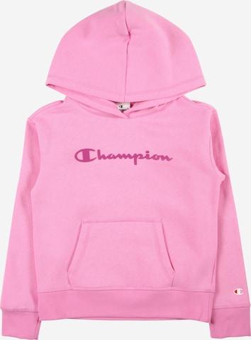 Bluză de molton de la Champion Authentic Athletic Apparel pe roz
