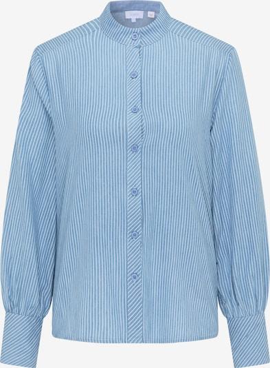 usha BLUE LABEL Bluse in rauchblau / weiß, Produktansicht