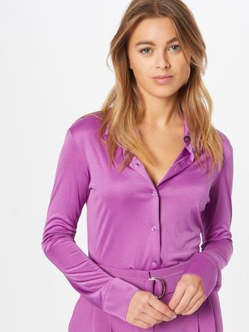 BOSS Blouse 'Berdy' in Purple